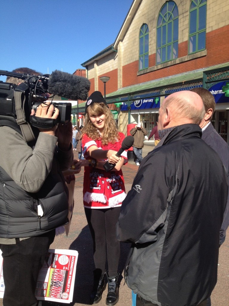 Community campaign kickstarts Stanley support
