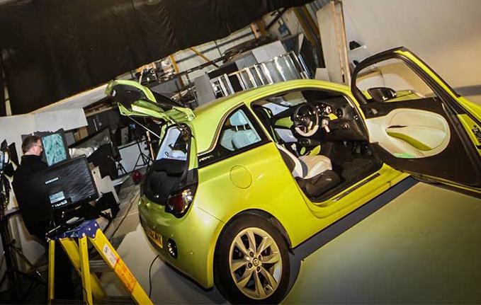 SDA gears up for major car shoot