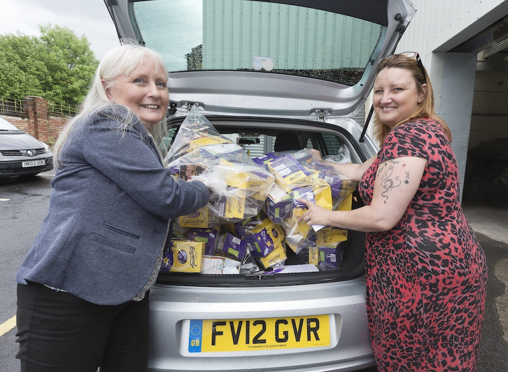 SDA plays Easter Bunny for local Lancashire Food Bank