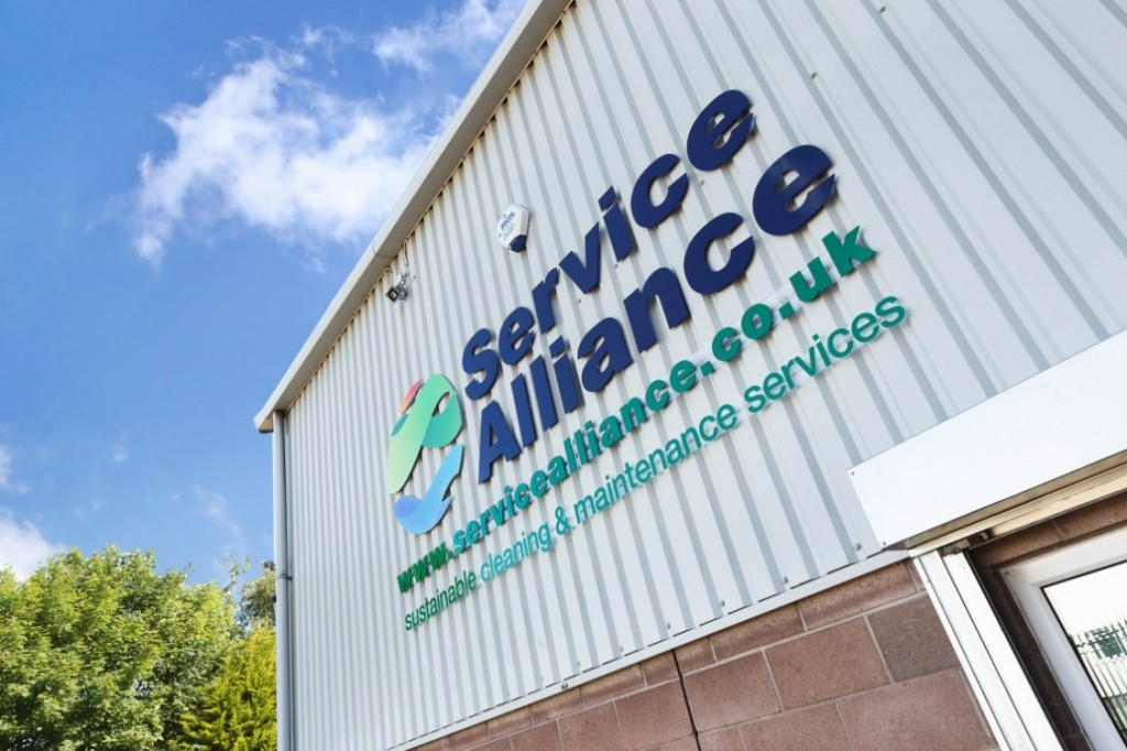 Service Alliance eye-catching new signage